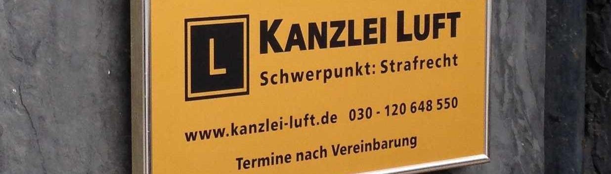 Strafverteidiger Steglitz